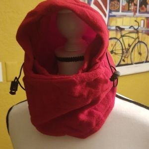 Other - Face shield hoodie for cold